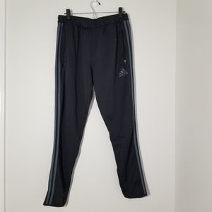 ADIDAS Fleece Fitted Training Pants Size Large